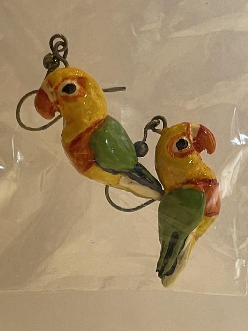 Handmade Conure Earring