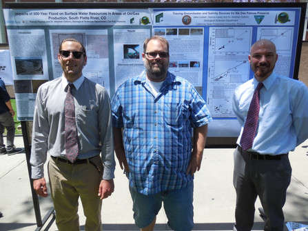 Students Present Posters