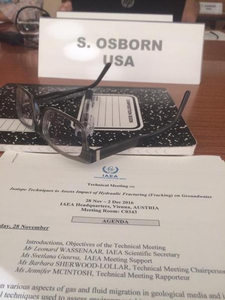 Invited Speaker at IAEA symposium
