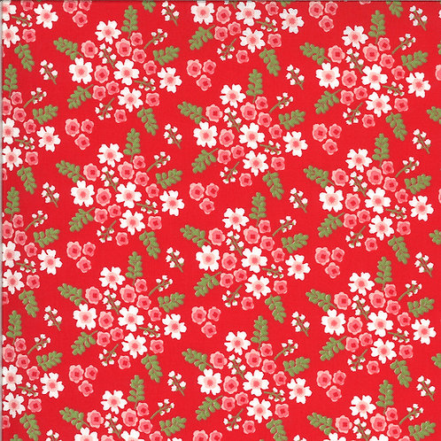 Homestead Wildflowers Apple By April Rosenthal For Moda Fabrics