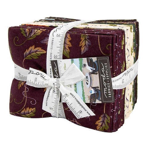 Fresh Off The Vine Fat Quarter by Holly Taylor
