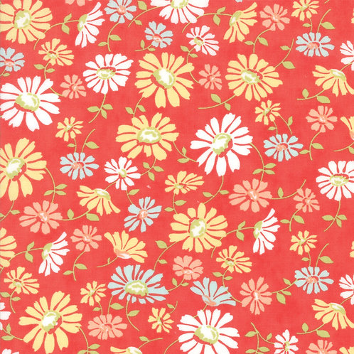 Catalina Daisy Lollipop Yardage By Fig Tree Quilts