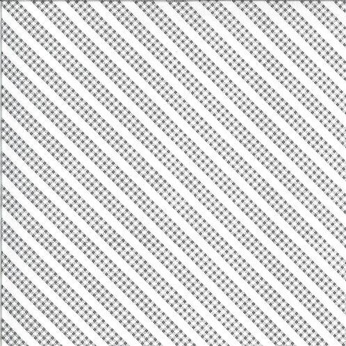Spring Brook   Gingham Stripe Slate by Corey Yoder for Moda Fabrics