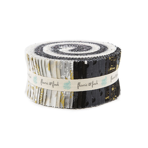 Shiny objects Good As Gold Neutral Metallic Jelly Roll By Flaurie & Finch