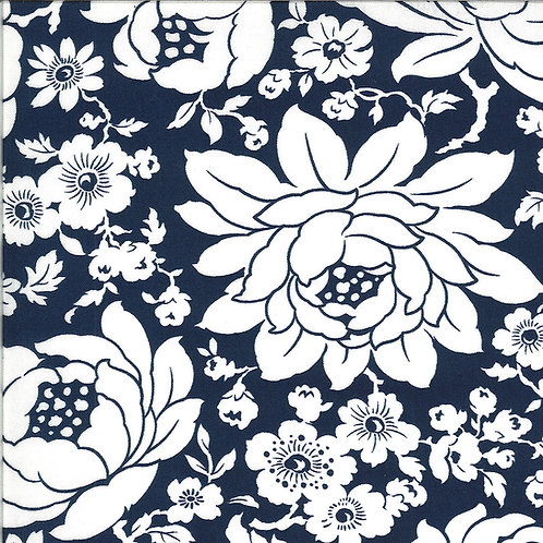 Shine On  Mums Navy by Bonnie and Camille for Moda Fabrics