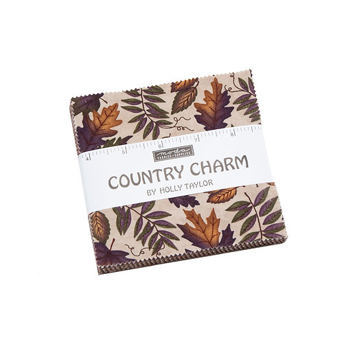 Country Charm Charm Pack By Holly Taylor