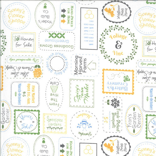 Spring Brook | Seed Catalog Cloud by Corey Yoder for Moda Fabrics