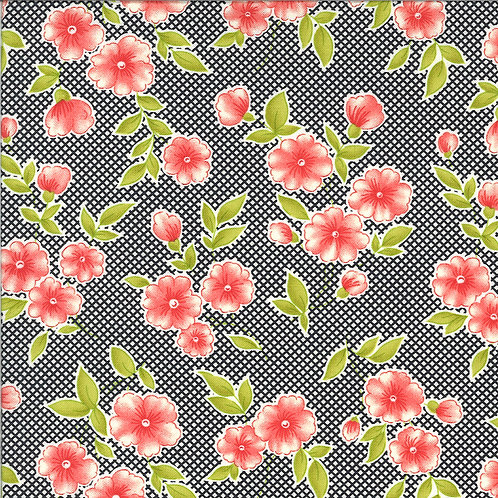 Figs and Shirting | Pinafore Raven by Fig Tree Quilts for Moda Fabrics