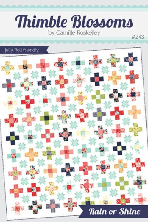 Rain or Shine Quilt Pattern By Thimbleblossoms