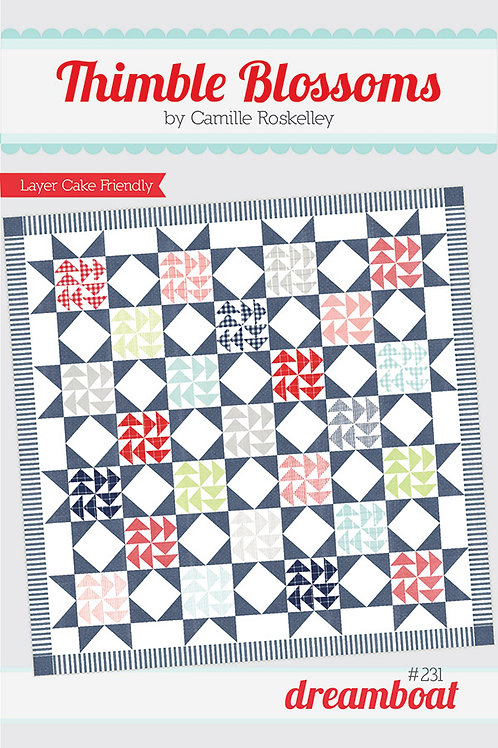 Dreamboat Quilt Pattern By  Camille Roskelley