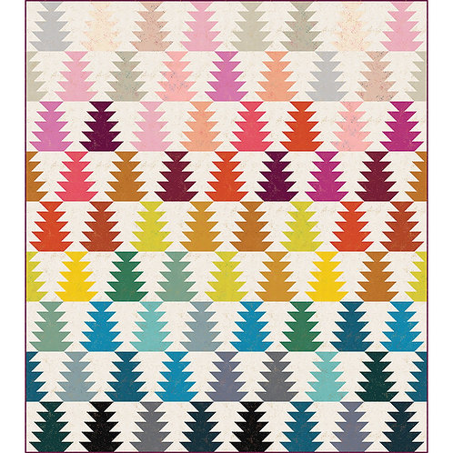 Conifer Quilt Kit Featuring Speckled by Ruby Star Society Fabrics