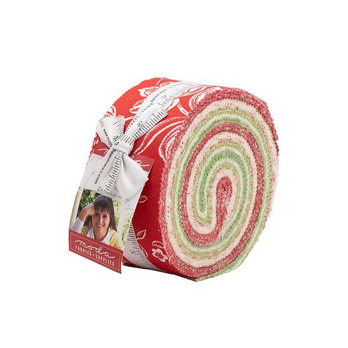 Christmas Fig II Jelly Roll By Fig Tree for Moda Fabrics