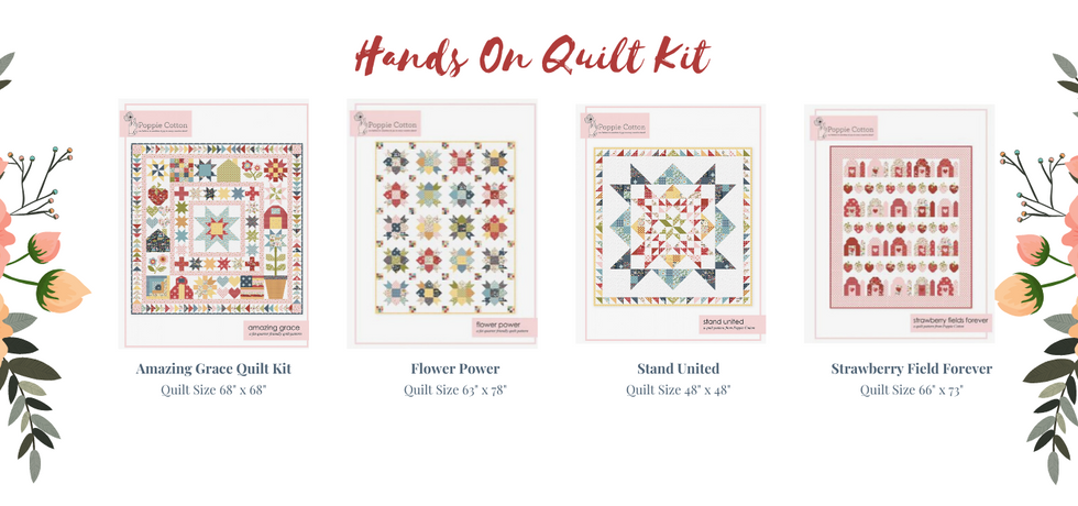 Quilt Kits Now Available!