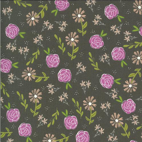 Balboa  Wild Rose Slate By Sherri and Chelsi for Moda Fabrics