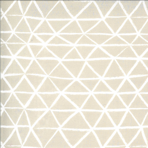 Zoology   Feather Rustic Triangle by Gingiber For Moda Fabrics