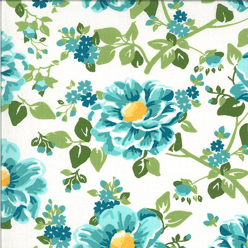 Homestead Church Dress Sky By April Rosenthal For Moda Fabrics