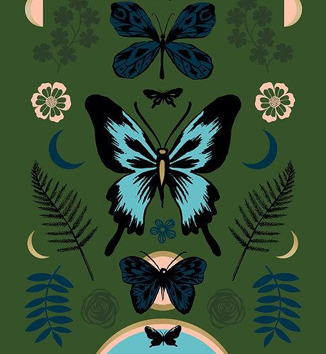 Tiger Fly Panel Metallic Shell By Sarah Watts