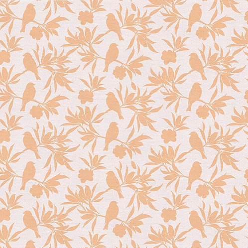 Magnolia Wonderland Songbird Shadow Peach By Teresa Chang for Paintbrush S