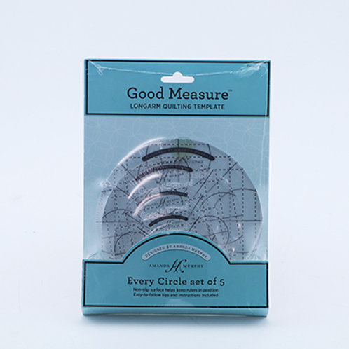 Good Measure Amanda Murphy Circle Set of 5