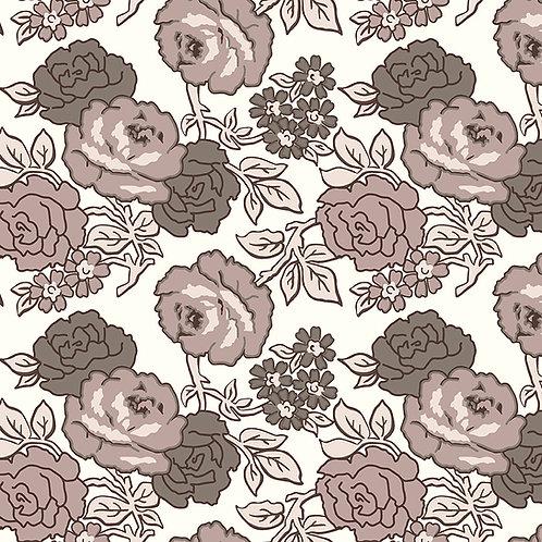 Wide Back Flea Market Roses Neutral by Lori Holt for Riley Blake Designs