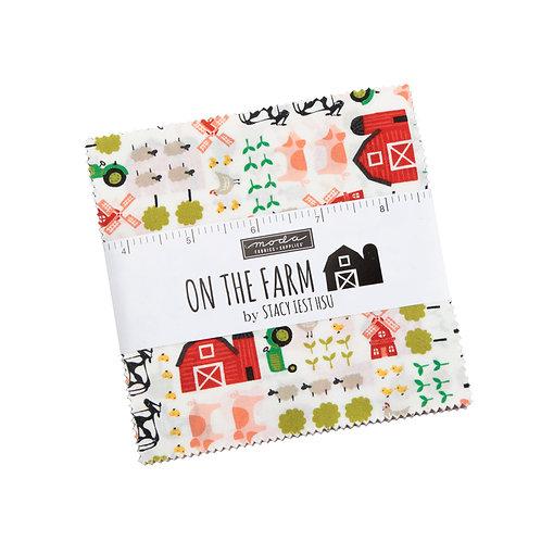 On the Farm Charm Pack by Stacy Iest Hsu for Moda Fabrics