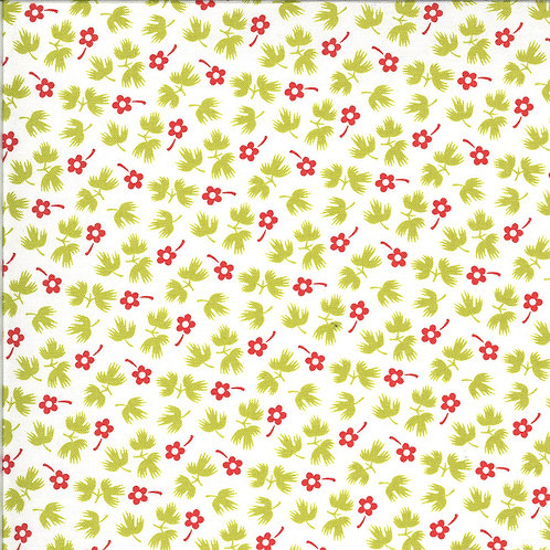 Figs and Shirting | Sugar Sack Meadow for Fig Tree Quilts By Moda Fabrics