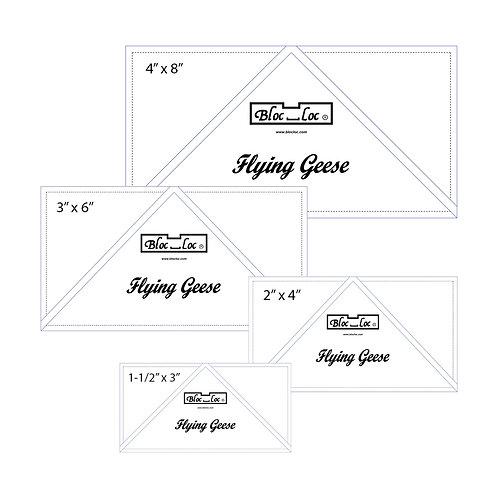 Flying Geese Ruler Set 1