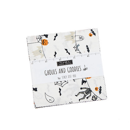 Ghouls And Goodies Charm Pack By Stacy Iest Hsu For Moda Fabrics