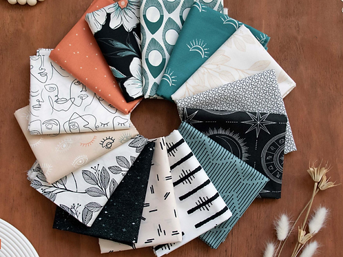 Luna And Laurel FatQuarter Bundle By AGF Studio for ArtGallery Fabrics
