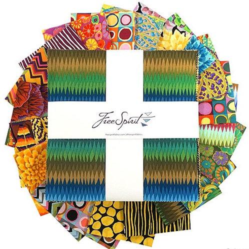 "Kaffe Fassett Collective Fall 2018 - Day - 10"" Charm"