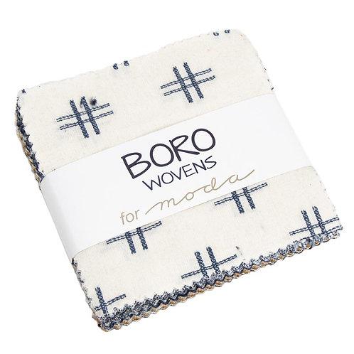 Boro Woven Charm Pack by Moda