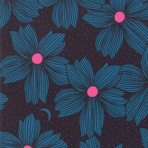 Crescent Teal By Sarah Watts