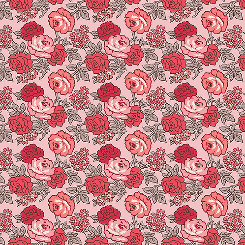 Flea Market   Roses Frosting by Lori Holt for Riley Blake Designs