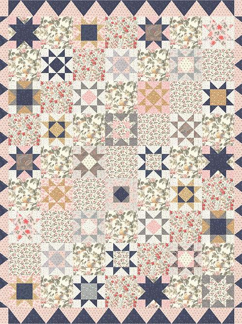Daybreak Quilt Kit By 3 Sister Designs for Moda Fabrics