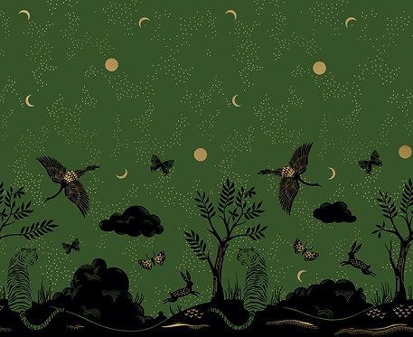 Tiger Fly Panel Sarah Green By Sarah Watts