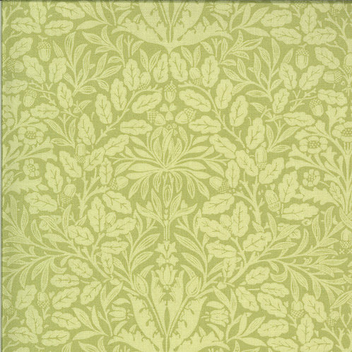 Dover Acorn Damask Sprig By Brenda Riddle Designs for Moda Fabric