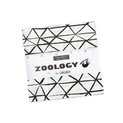 Zoology Charm Pack by Gingiber For Moda Fabrics