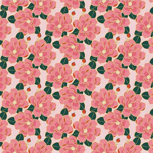 Magnolia Wonderland Magnolia Pink By Teresa Chang for Paintbrush S