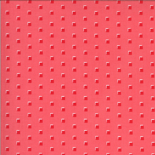 Homestead Squares Strawberry By April Rosenthal For Moda Fabrics