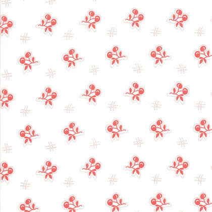 Catalina Cloud Cherry Yardage By Fig Tree Quilts
