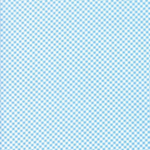 Catalina Ocean Gingham Yardage By Fig Tree Quilts