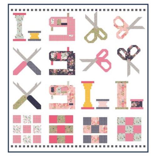 Riley Blake's 10 year Anniversary Quilt Kit  Riley Blake Designs