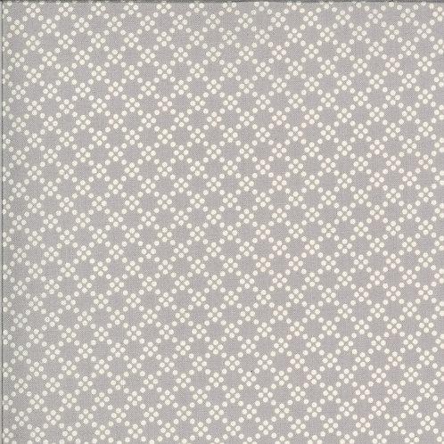 Dover Tonal Dot Grey By Brenda Riddle Designs for Moda Fabrics