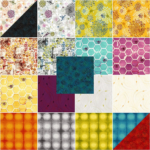 Pollinator Jelly Roll By Leslie Tucker Jenison