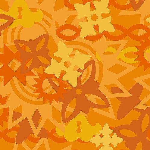 Handiwork Marigold Quilt Yardage by Alison Glass for Andover Fabrics