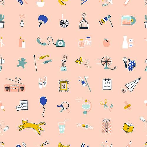 Whatnot | Stuff Pale Peach By Rashida Coleman-Hale for Ruby Star Society