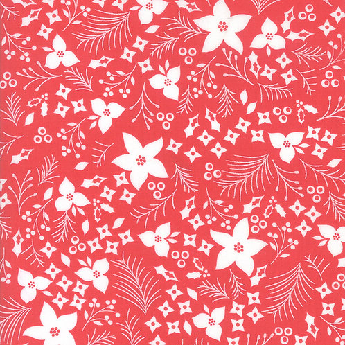 Holliberry | Scarlet Christmas Flower By Corey Yoder for Moda Fab