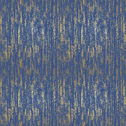 Tiger Fly Brushed Metallic Blue By Sarah Watts