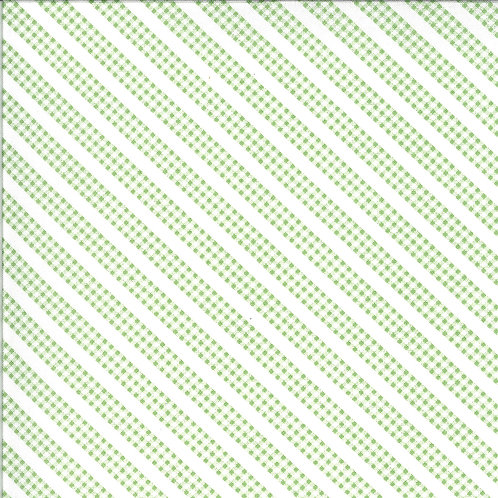 Spring Brook | Gingham Stripe Sprout by Corey Yoder for Moda Fabrics