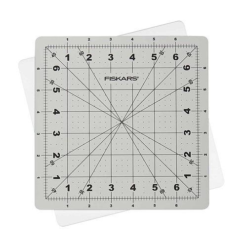 "Fiskars Self Healing 8"" x 8"" Rotating Cutting Mat"
